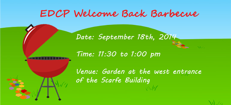 EDCP BBQ Party 2014 September